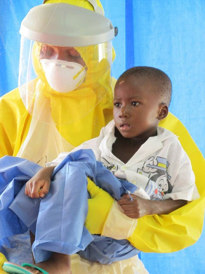 MOMOH, 5, DEFEATED EBOLA