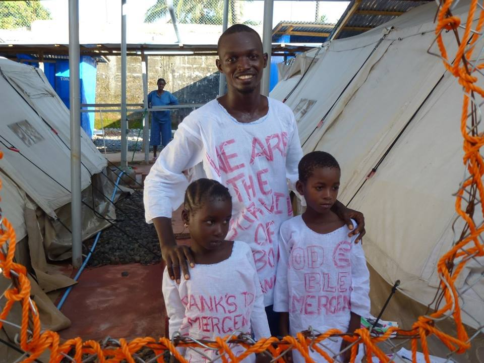 CHILDREN BROTHERS WIN BATTLE AGAINST EBOLA