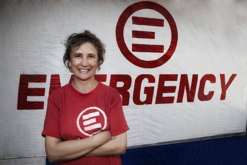 MEET EMERGENCY'S EBOLA FIGHTERS: GINA