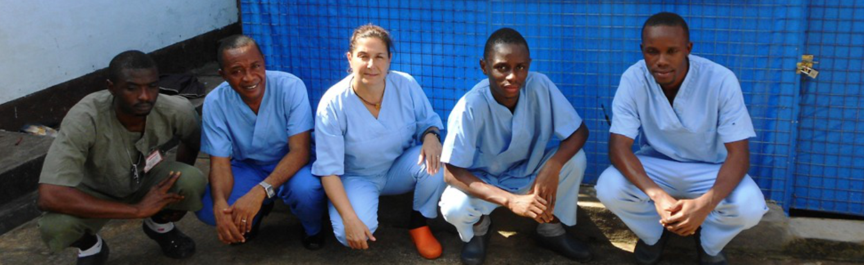 EBOLA: OUR WORK IS NOT OVER