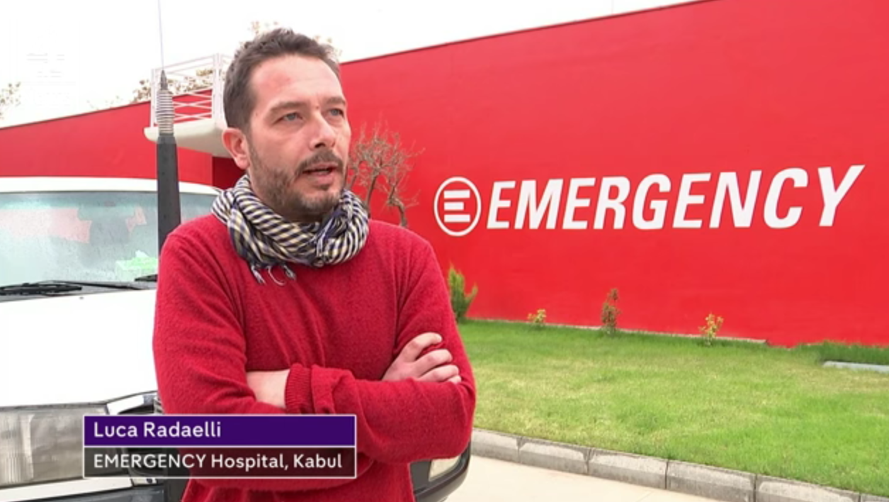 AFGHANISTAN: Channel 4 News Visit EMERGENCY's Surgical Centre In Kabul