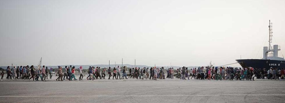 Migrant Response, Italy: Twelve Days In The Open Sea