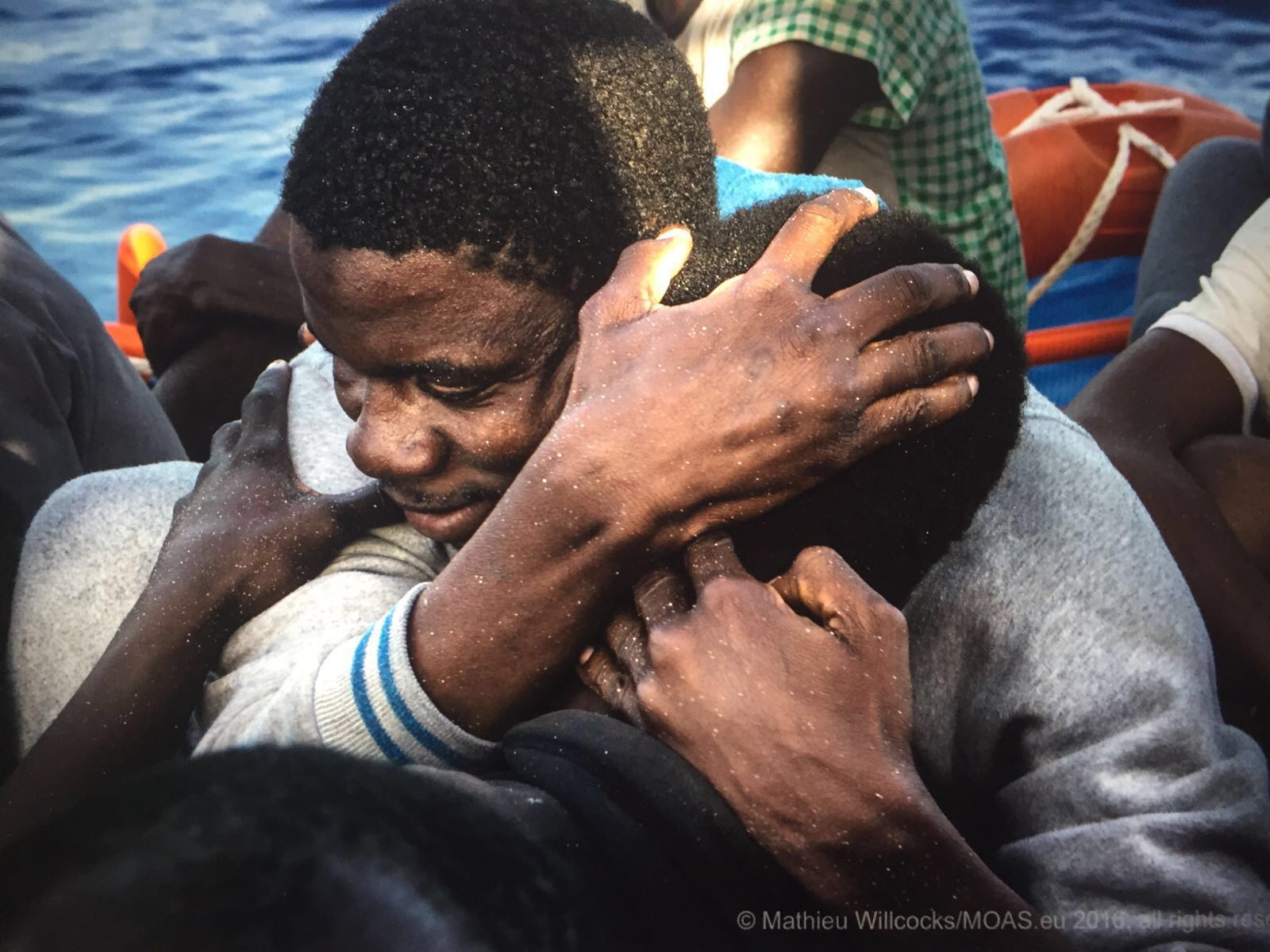 Rescuing Migrants In The Mediterranean Sea