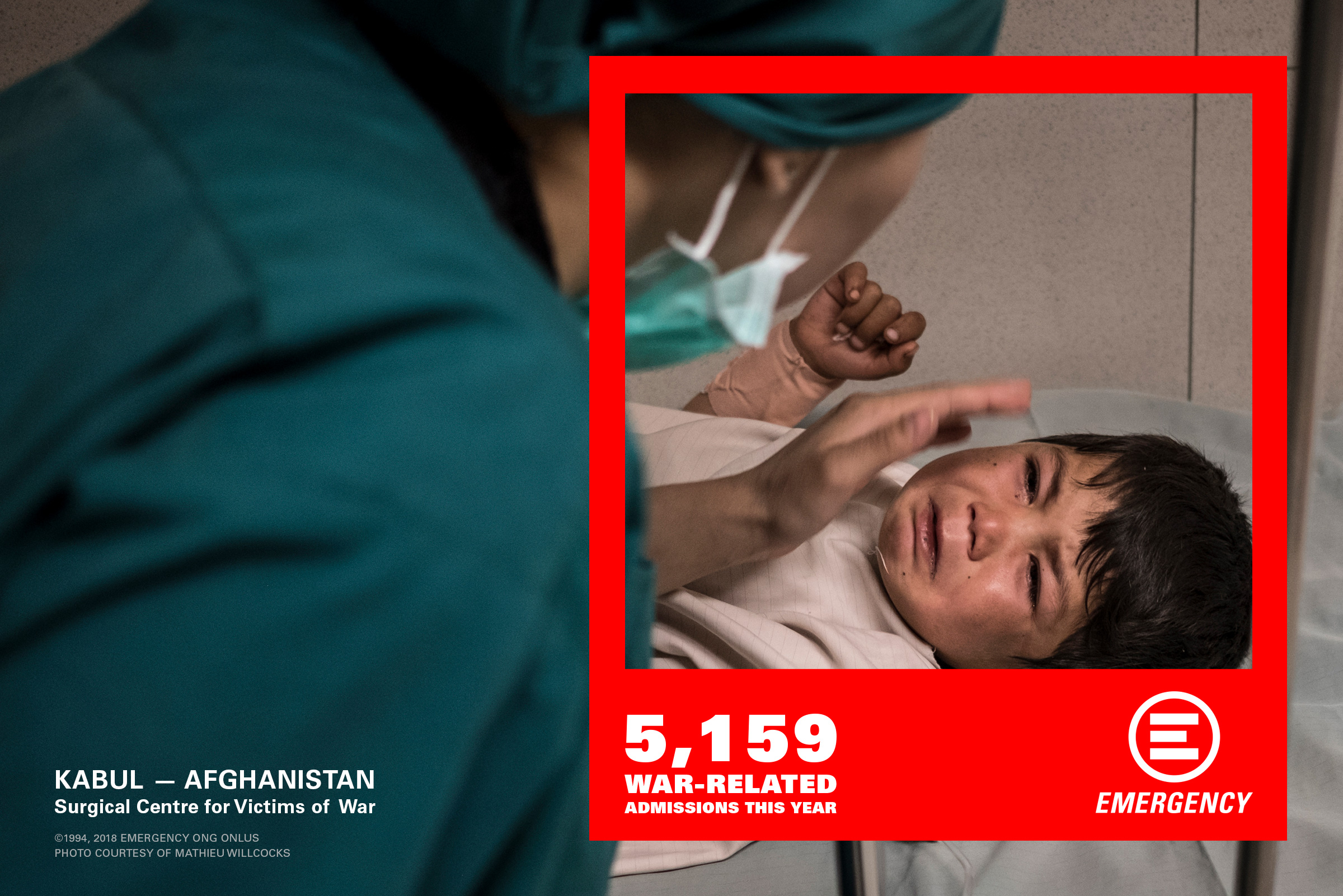 EMERGENCY Has Been Treating Victims Of War In Afghanistan Since 1999