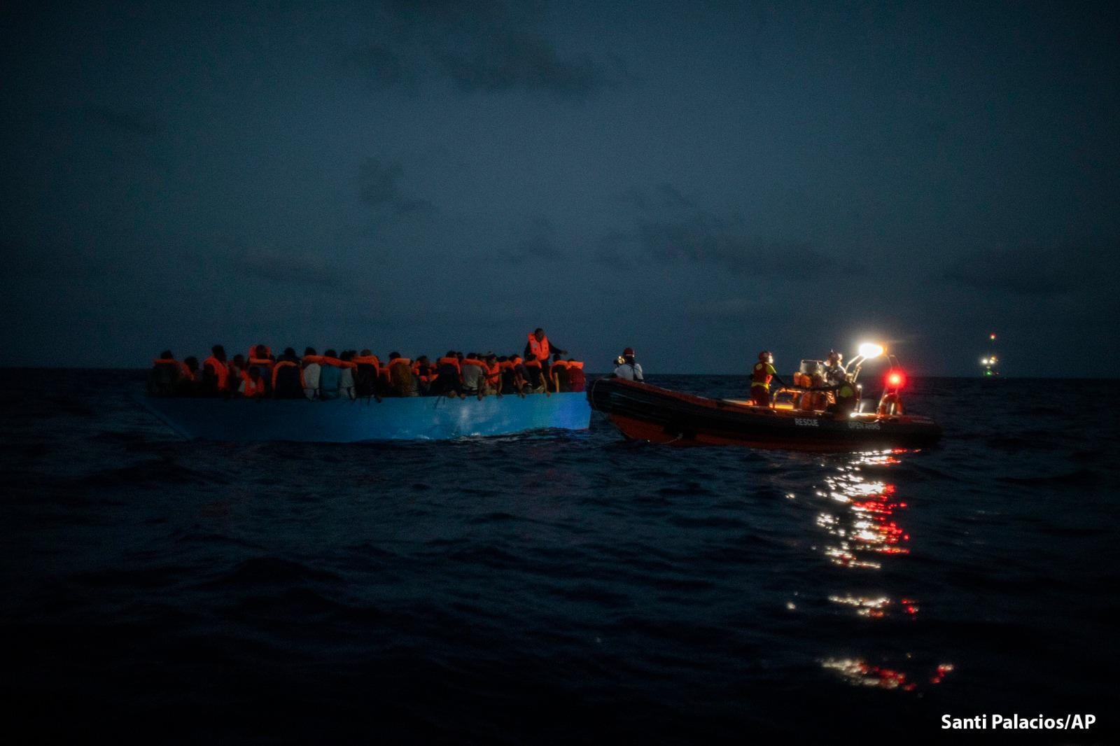 EMERGENCY And Open Arms Rescued 83 People In The Mediterranean Sea